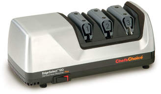 Chef's Choice Brushed Metal Electric Knife Sharpener