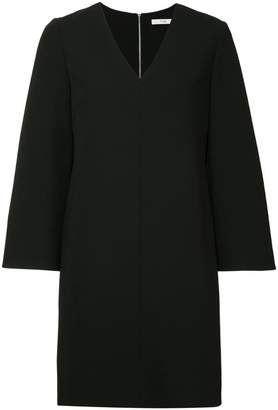 Tibi crepe v-neck dress