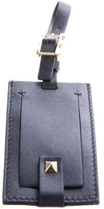 Valentino Leather Luggage Tag