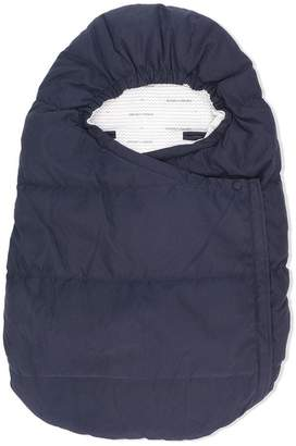 Emporio Armani Kids padded sleeping bag