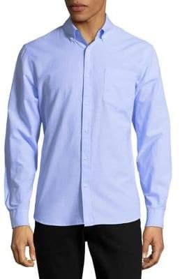 Black & Brown Black Brown Loose-Fit Button-Down Shirt