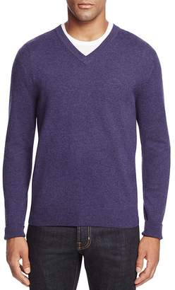 The Men's Store at Bloomingdale's Cashmere V-Neck Sweater $198 thestylecure.com