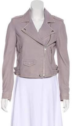 IRO Ashvillespe Leather Jacket w/ Tags