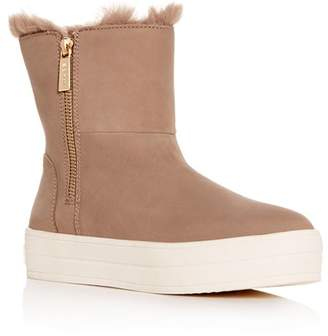 J/Slides Women's Henley Platform Booties