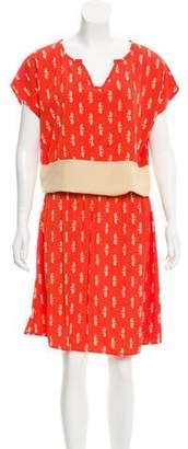 Needle & Thread Printed Midi Dress