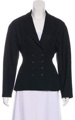 Alaia Structured Button-Up Jacket