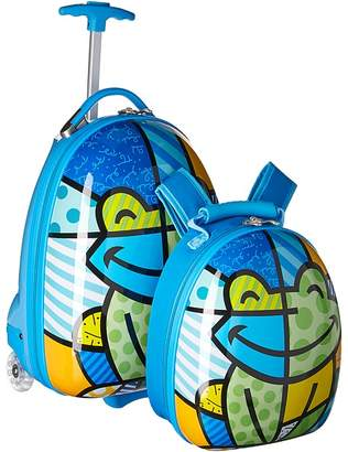 Heys America Britto Kids Luggage with Backpack Backpack Bags