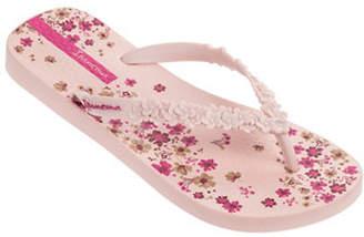 Ipanema Floral-Print Flip Flops