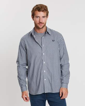 Fred Perry Two Colour Gingham Shirt