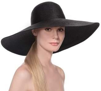 Eric Javits Luxury Fashion Designer Women's Headwear Hat - Floppy