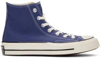 dc7754ff88bc Converse Navy Chuck 70 High Sneakers