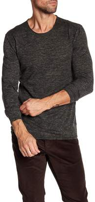 John Varvatos Collection Heathered Crewneck Sweater