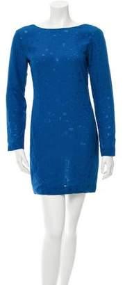Cushnie et Ochs Long Sleeve Mini Dress