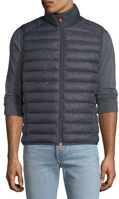 Save The Duck Men's Quilted Nylon Vest