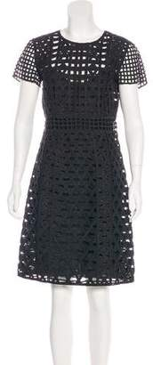 Burberry Embroidered Knee-Length Dress w/ Tags