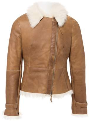 HUGO BOSS Brown Leather Jackets