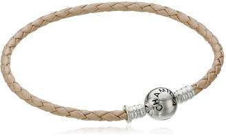 "Michael Kors Chamilia Blush Leather Charm Bracelet, 7.5"""
