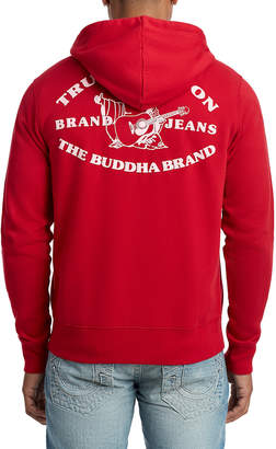 True Religion MENS HERITAGE BUDDHA ZIP UP HOODIE