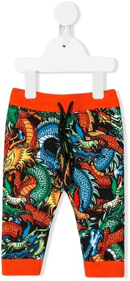 Kenzo all-over print trousers