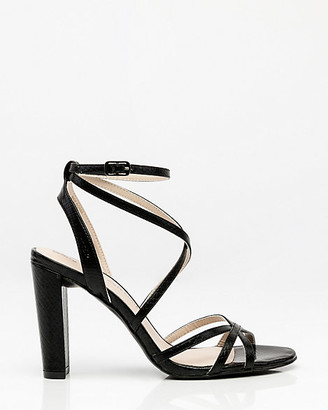 Le Château Snake Embossed Strappy Sandal