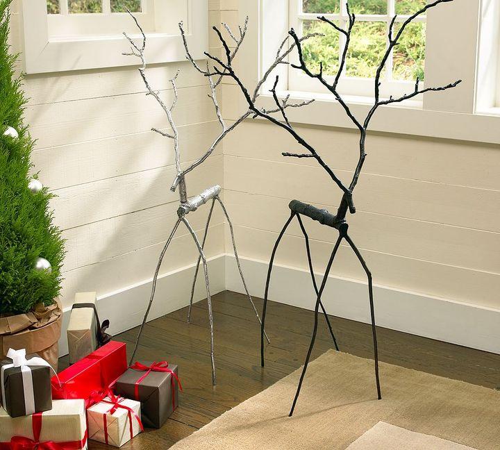 Oversized Twig Reindeer