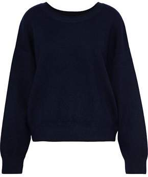 Vince Brushed Cashmere And Cotton-Blend Sweater