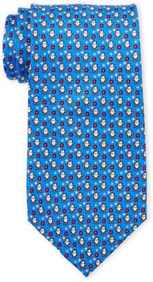 Pierre Cardin Chick Print Silk Tie