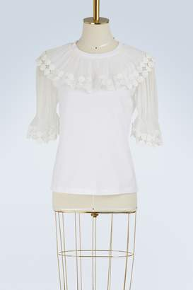 Chloé Ruffled t-shirt