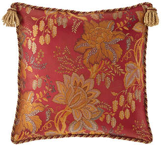 Sweet Dreams Francesca Floral European Sham with Tassel Trim