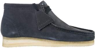 Clarks Suede Desert Boots Lace Up Ankle Boots Wallabee