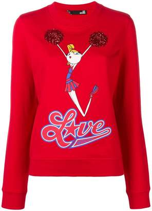 Love Moschino Cheerleader Doll jumper