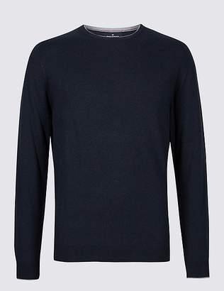 Marks and Spencer Cotton Cashmere Blend Jumper