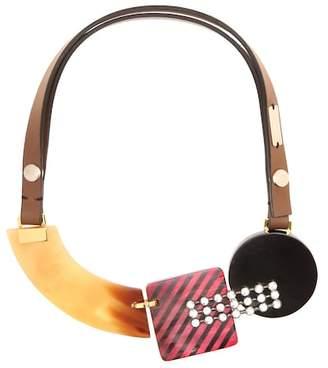 Marni Crystal-embellished necklace