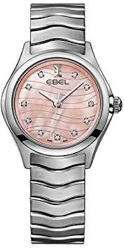 Ebel Womens Analogue Classic Quartz Watch with Stainless Steel Strap 1216268