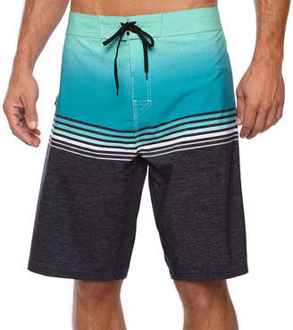 Burnside High Tide Stripe Board Shorts