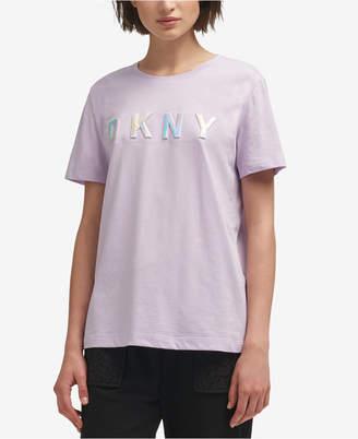 DKNY Cotton Logo T-Shirt, Created for Macy's