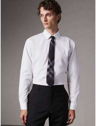 Burberry Modern Fit Cotton Poplin Shirt