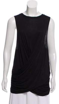 Nomia Sleeveless Draped Top