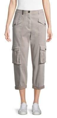 Peserico Cropped Cargo Pants