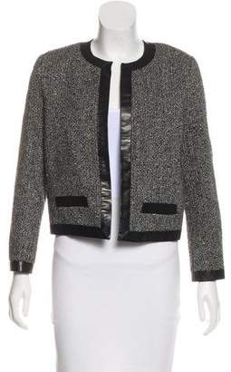 Saint Laurent Tweed Wool Blazer