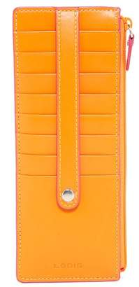 Lodis Audrey Leather Card Case Stacker