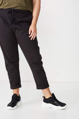 Cotton On Curve Rolled Hem Chino