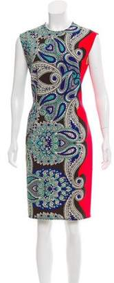 Lanvin Paisley Print Sheath Dress
