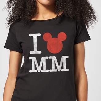 Disney Mickey Mouse I Heart MM Women's T-Shirt