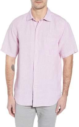 Tommy Bahama Sand Linen Dobby Stripe Sport Shirt