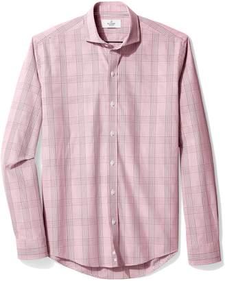 Buttoned Down Men's Slim Fit Cutaway-Collar Sport Shirt