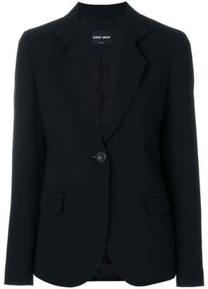 Giorgio Armani fitted blazer