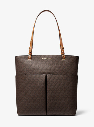 Michael Kors Bedford Large Logo Pocket Tote Bag