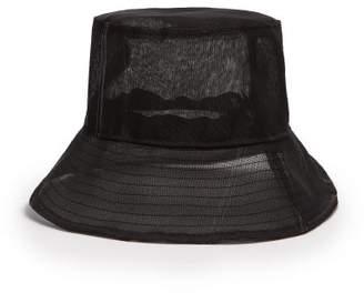 Reinhard Plank Hats - Pescatore Wide Brim Bucket Hat - Womens - Black