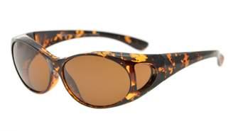 beea08419a7 at Amazon Canada · Eyekepper Retro Style Polarized Fitover Sunglasses for  Prescription Glasses ( Brown Lenses)